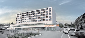 Parking Migros Chailly
