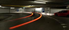 Parking Shopping Center Illuster